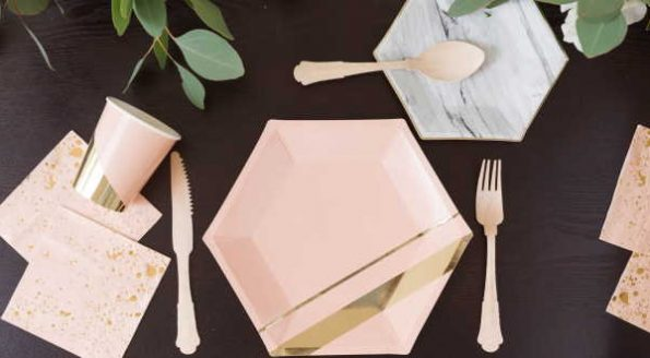 Will paper plates and napkins be good for weddings?